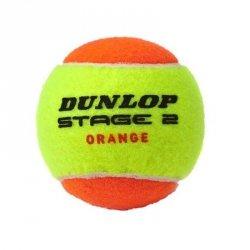 Piłka tenisowa Dunlop Stage 2 Orange pomarańczowy