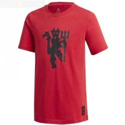 Koszulka adidas Manchester United GR Tee FR3837 czerwony 128 cm