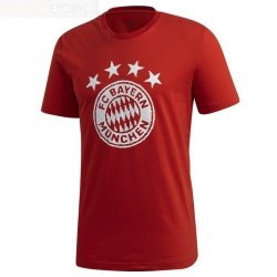 Koszulka adidas FC Bayern TEE FR3966 czerwony XL