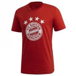 Koszulka adidas FC Bayern TEE FR3966 czerwony S