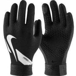 Rękawiczki piłkarskie Nike Hyperwarm Academy Y CU1595 010 czarny S
