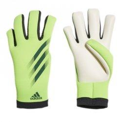 Rękawice adidas X GL Training J FS0417 zielony 6