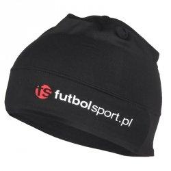 Czapka treningowa futbolsport czarna czarny one size