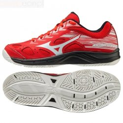 Buty do piłki ręcznej Mizuno STEALTH STAR JR X1GC210763 37 czerwony
