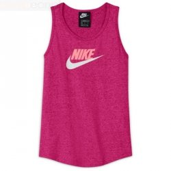 Koszulka Nike Sportswear Big Kids' (Girls') Jersey Tank DA1386 615 różowy XL