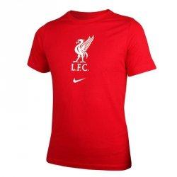 Koszulka Nike Liverpool FC Big Kids' Soccer T-Shirt CZ8249 687 M (137-147cm) czerwony