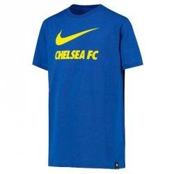 Koszulka Nike Chelsea FC Big Kids' Soccer T-Shirt CW4083 480 L (147-158cm) niebieski