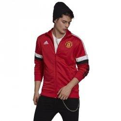 Bluza adidas Manchester United 3-Stripes Track Top GR3887 czerwony M