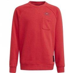 Bluza adidas Manchester United Kids Crew Sweat GR3885 czerwony 140 cm