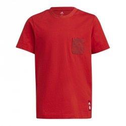 Koszulka adidas FC Bayern Kids Tee GR0678 czerwony 128 cm