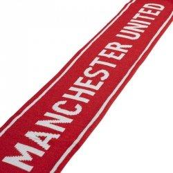 Szal adidas Manchester United SCARF GU0121 czerwony one size