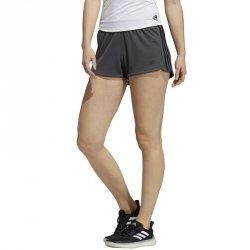 Spodenki adidas Pacer 3 Stripe Knit Short GC7832 M grafitowy