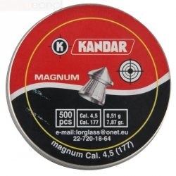 Śrut 4,5mm Kandar Magnum 4,5 mm