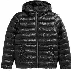 Kurtka zimowa 4F HJZ21-JKUMP001 21S czarny 128 cm