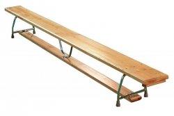 Ławka gimnastyczna metalowe nogi 200x22x30