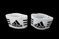 Opaska adidas pod nagolennik 604433 biały szeroka