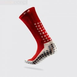 Skarpety piłkarskie Trusox Thin czerwony 34-38,5