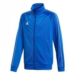 Bluza adidas CORE 18 PES JKTY CV3578 niebieski 140 cm