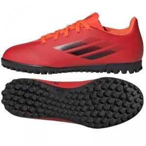 Buty adidas X Speedflow.4 TF J FY3327 czerwony 34