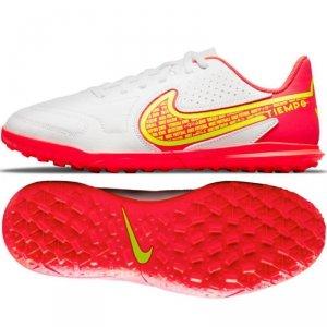 Buty Nike Jr. Tiempo Legend 9 Club TF DA1334 176 biały 38 1/2