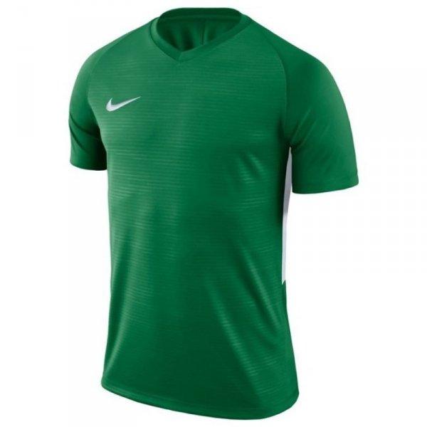 Koszulka Nike Y Tiempo Premier JSY SS 894111 302 zielony S (128-137cm)