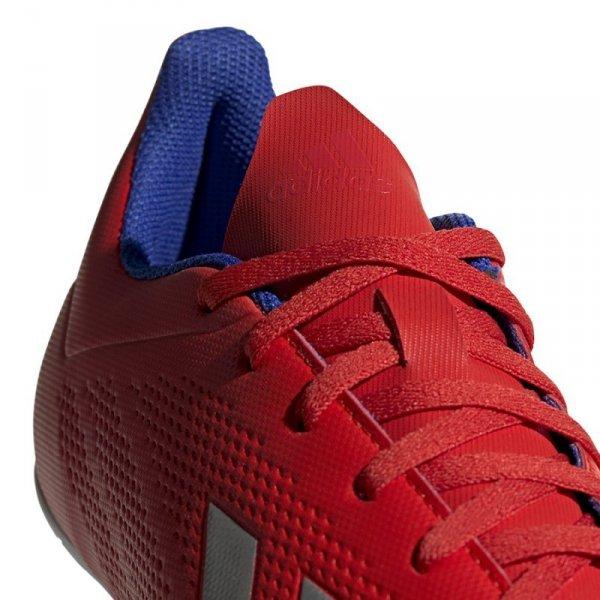 Buty adidas X 18.4 IN BB9406 czerwony 44