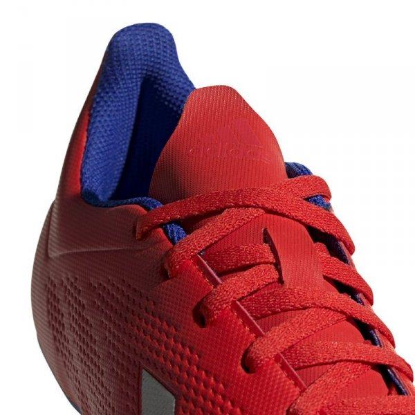Buty adidas X 18.4 FG BB9376 czerwony 40