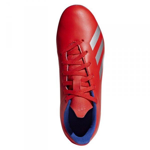Buty adidas X 18.4 FXG J BB9379 czerwony 36