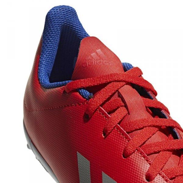 Buty adidas X 18.4 TF J BB9417 czerwony 37 1/3