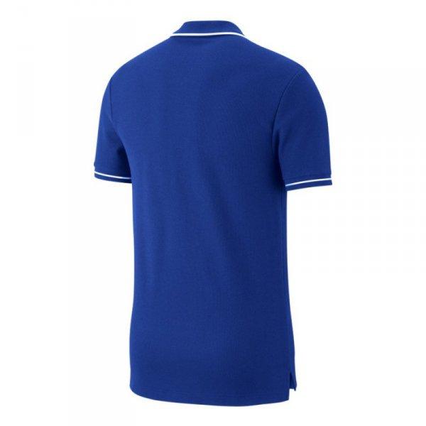 Koszulka Nike Polo Team Club 19 AJ1502 463 niebieski S