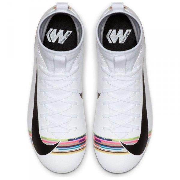 Buty Nike JR Mercurial Superfly 6 Academy GS CR7 AJ3111 109 biały 36