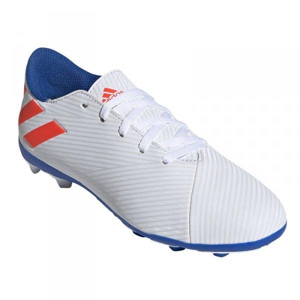 Buty adidas Nemeziz Messi 19.4 J FxG F99931 biały 38