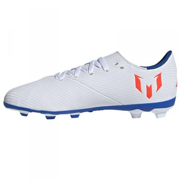 Buty adidas Nemeziz Messi 19.4 J FxG F99931 biały 38 2/3
