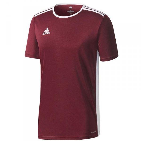 Koszulka adidas Entrada 18 JSY CD8430 czerwony 116 cm