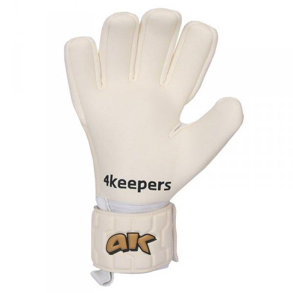 Rękawice 4keepers Champ  Gold IV NC + płyn czyszczący biały 9,5