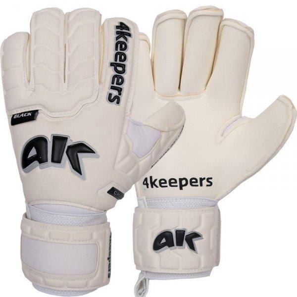 Rękawice 4keepers Champ Black IV RF + płyn czyszczący biały 11
