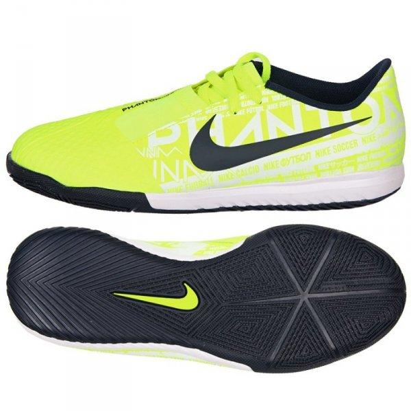 Buty Nike JR Phantom Venom Academy IC AO0372 717 żółty 33