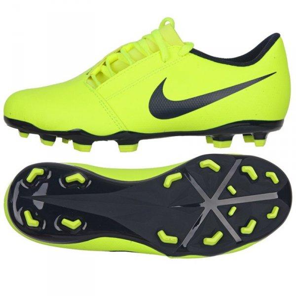 Buty Nike JR Phantom Venom Club FG AO0396 717 żółty 38