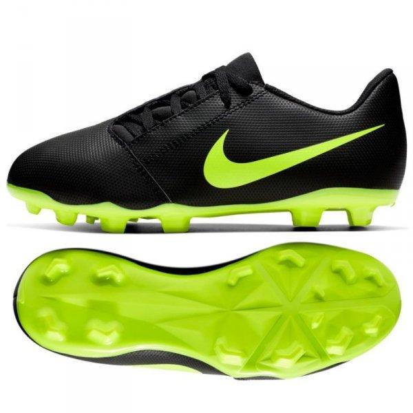 Buty Nike JR Phantom Venom Club FG AO0396 007 czarny 38