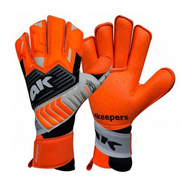 Rękawice 4keepers Diamo Taffe RF + płyn czyszczący pomarańczowy 8,5