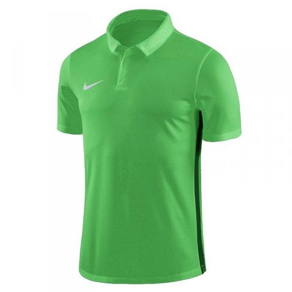 Koszulka Nike Y Dry Academy 18 Polo SS 899991 361 zielony M (137-147cm)