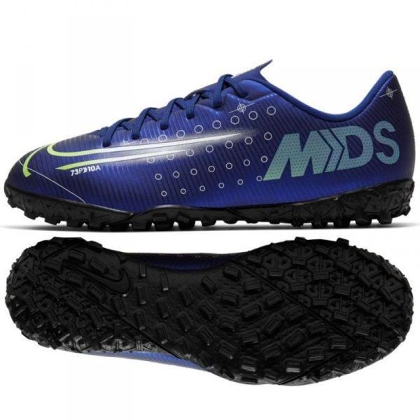 Buty Nike JR Mercurial Vapor 13 Academy MDS TF CJ1178 401 niebieski 37 1/2