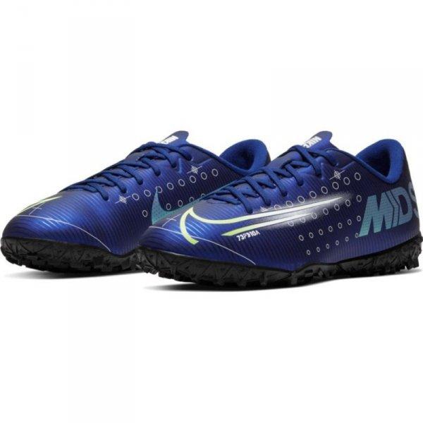 Buty Nike JR Mercurial Vapor 13 Academy MDS TF CJ1178 401 niebieski 38