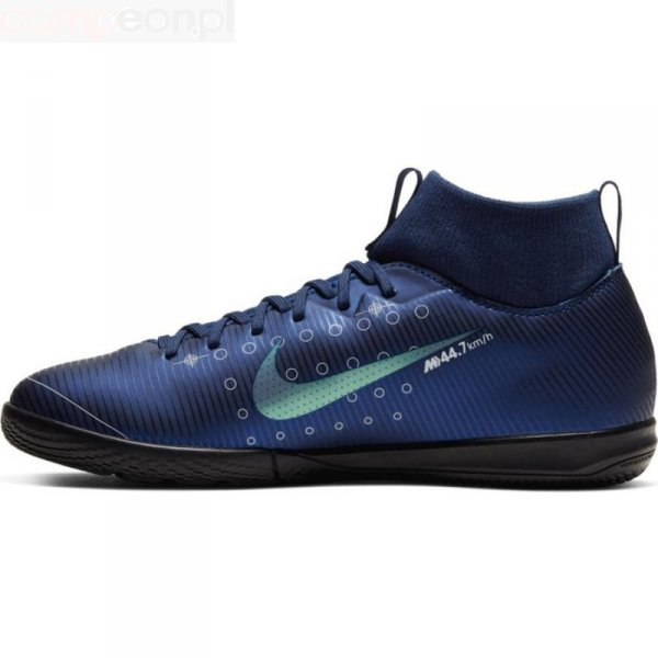 Buty Nike JR Mercurial Superfly Academy MDS IC BQ5529 401 niebieski 35