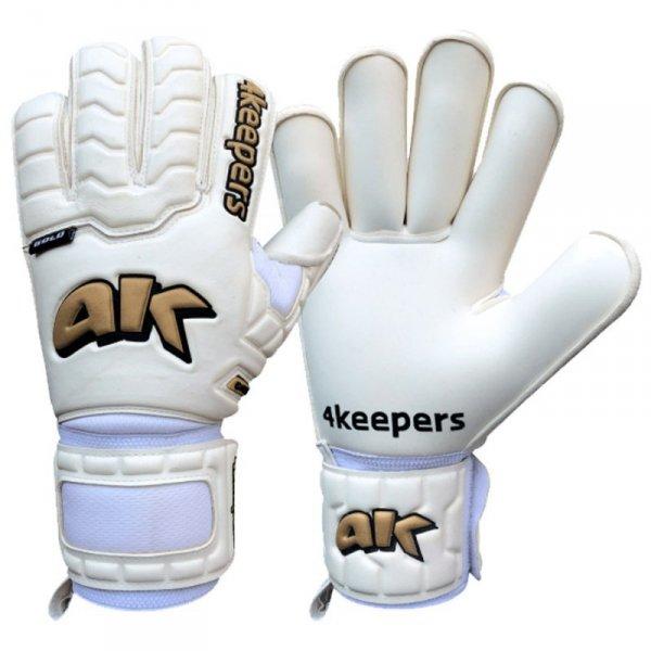 Rękawice 4Keepers Champ Gold IV HB S624822 biały 8,5