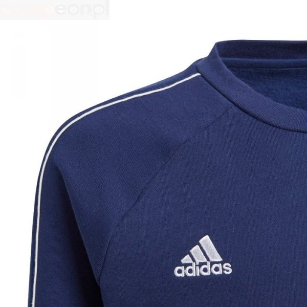 Bluza adidas CORE 18 SW Top Y CV3968 granatowy 152 cm