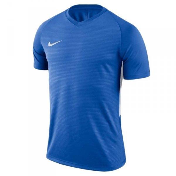 Koszulka Nike Y Tiempo Premier JSY SS 894111 463 niebieski L (147-158cm)