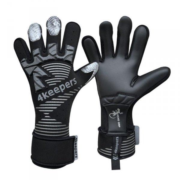 Rękawice 4keepers Gecko Maspis MNC + płyn czyszczący czarny 10,5