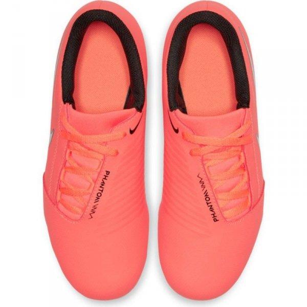 Buty Nike JR Phantom Venom Club FG AO0396 810 pomarańczowy 35