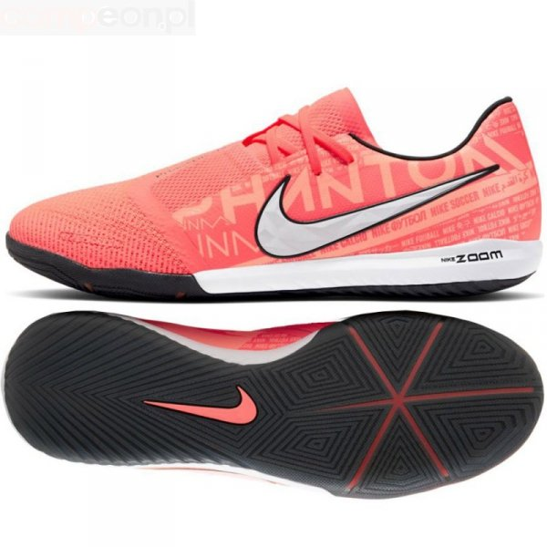 Buty Nike Zoom Phantom Venom Pro IC BQ7496 810 pomarańczowy 41